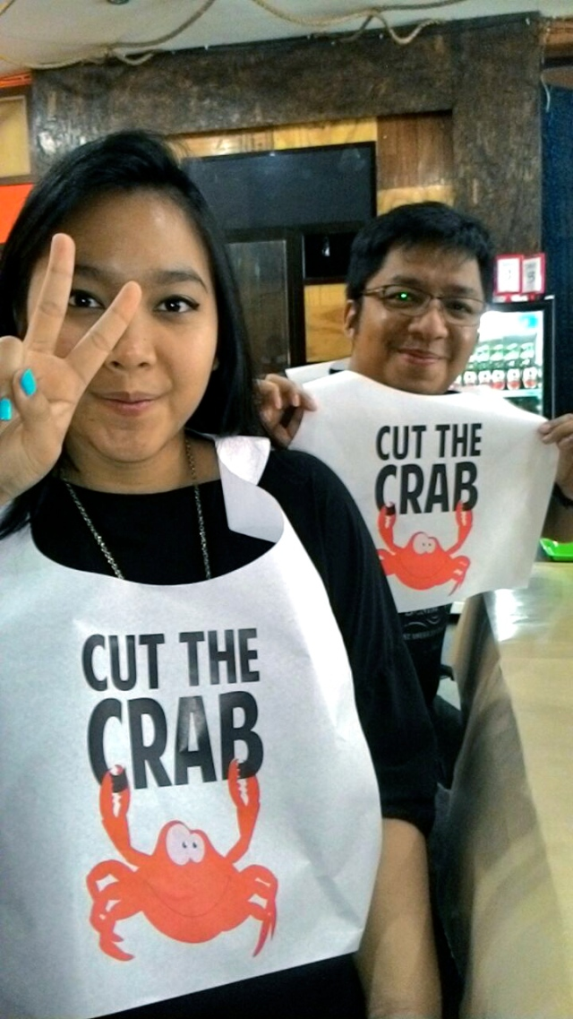 Eating at Cut The Crab